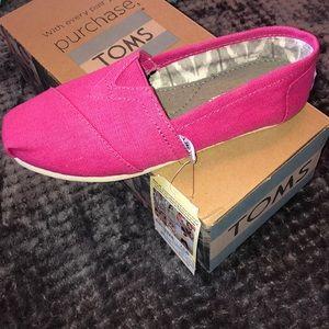 Women's Pink TOMS